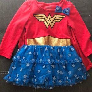 Toddler Girl Wonder Women Costume